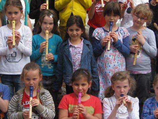 Flötenkurs 2015