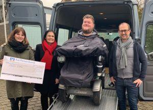 Florian Distler braucht ein neues behindertengerechtes Auto