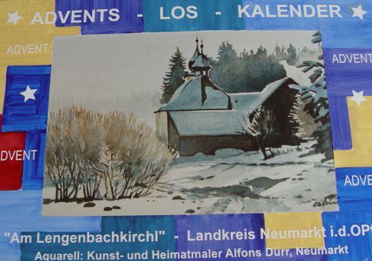Advents-Los-Kalender 2008