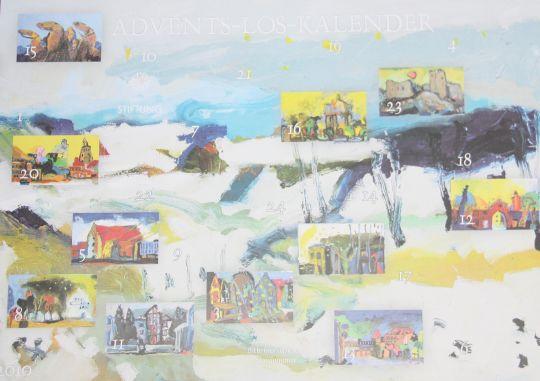 Advents-Los-Kalender 2010