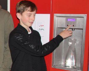Wasserspender für Knabenrealschule