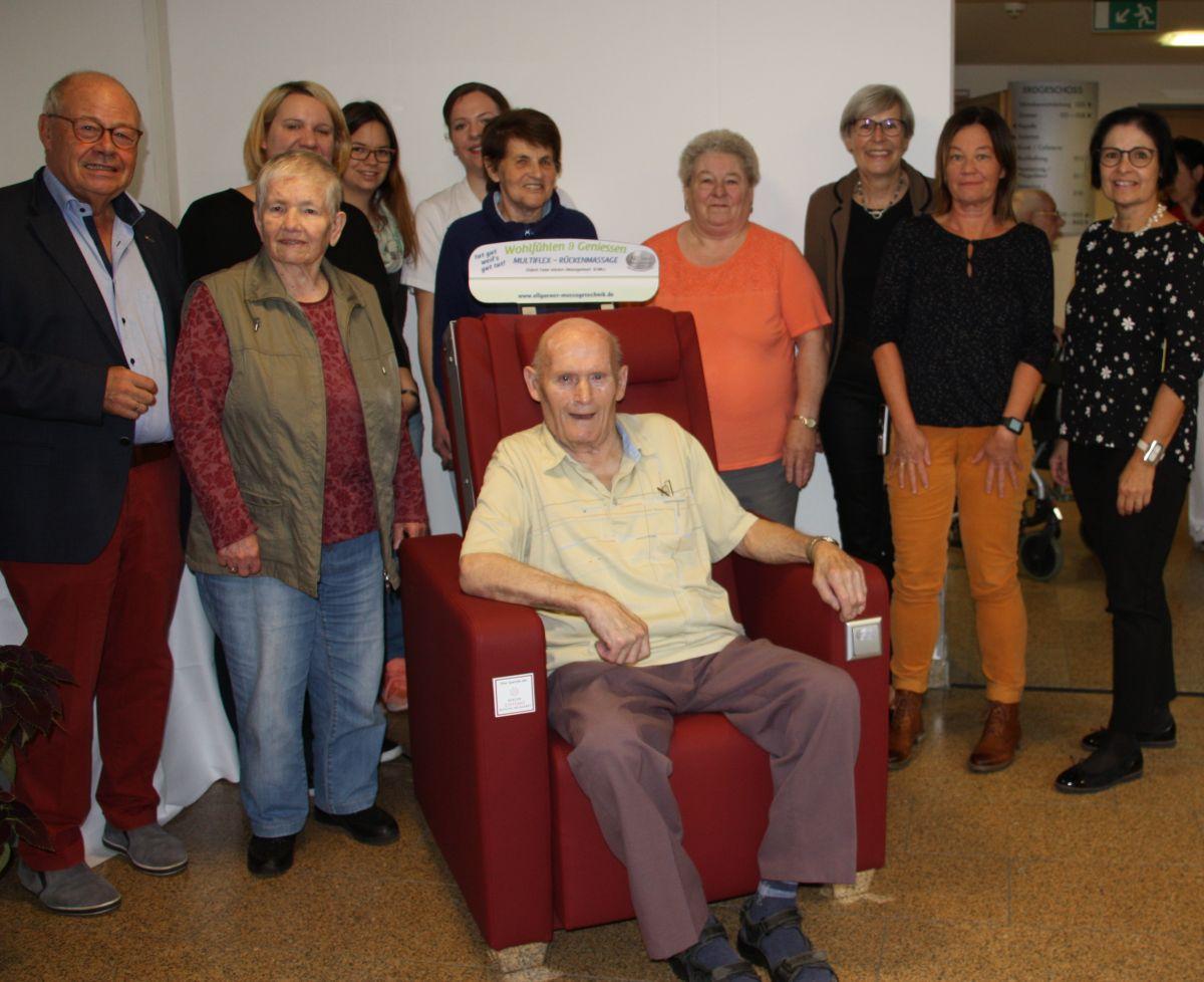 Bei den Senioren ist der Reha-Sessel heiß begehrt.