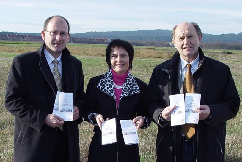 Josef Dunkes, Vera Finn, Dr. Heinz Sperber (Vorsitz)