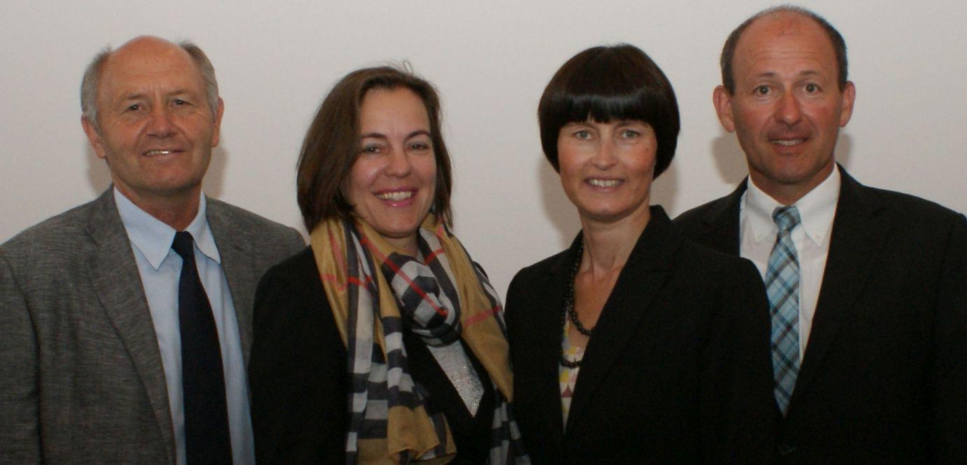 Dr. Heinz Sperber (Vorsitz), Eva Diepenseifen, Gerlinde Sturm und Josef Dunkes