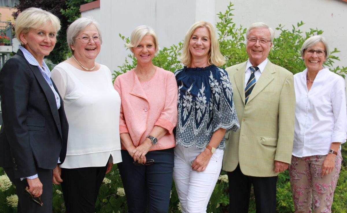Marlis Knychalla, Carola Egger, Gudrun Berschneider, Eva Bauer, Dr. Peter Hasse, Jutta Rother