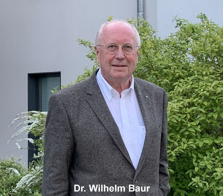 Dr. Wilhelm Baur