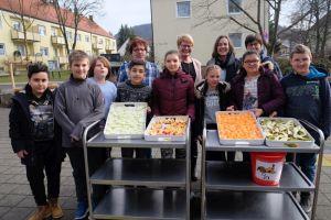 Schulobst-Projekt an der Weinberger-Mittelschule