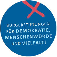 """Bürgerstiftung für """"Demokratie, Menschenwürde und Vielfalt"""""""