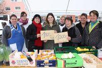 Spende vom Bauernmarkt