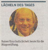Rainer Knychalla lächelt für die Bürgerstiftung