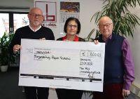 Spende aus dem Max Bögl Unterstützungsfonds