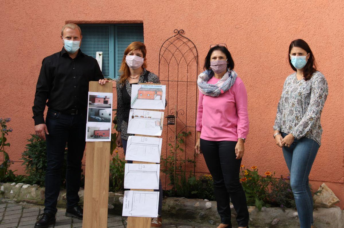von links: Sven Göpel, Veronika Segerer, Vera Finn, Alexandra Hiereth