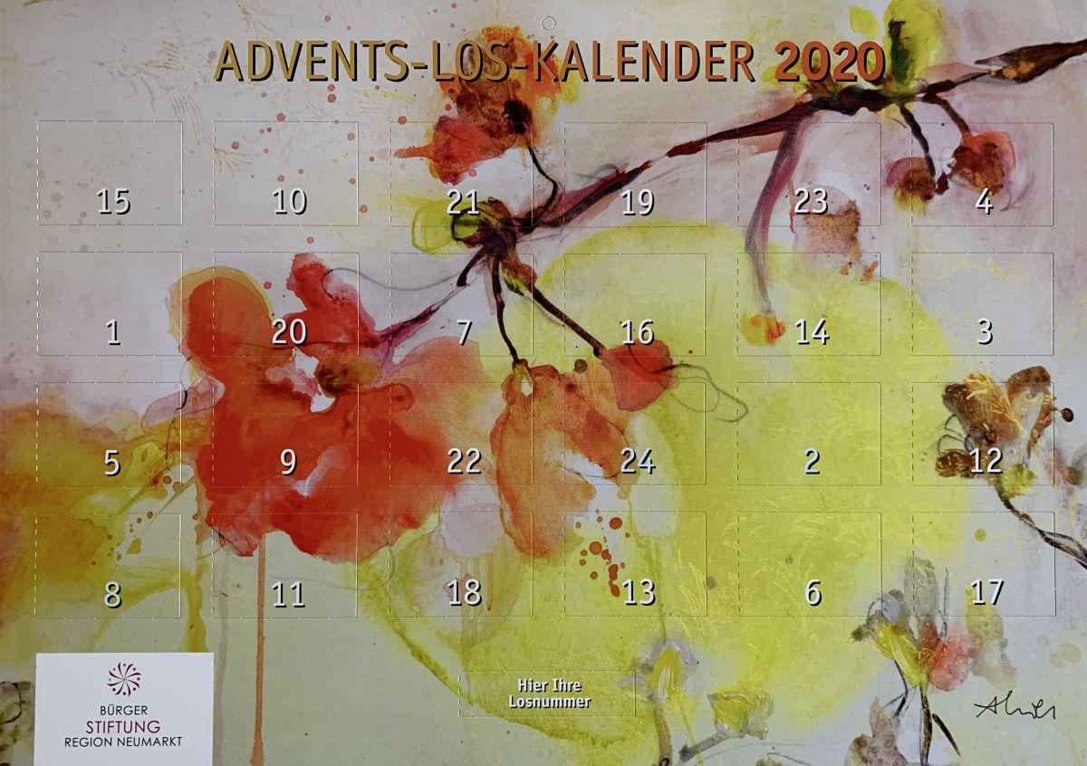 Ab 23. Oktober gibt es den Advents-Los-Kalender der Bürgerstiftung in der Tourist-Info und im Handel an den bekannten Verkaufsstellen