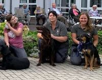 Rettungshunde im Seniorenheim Doktorshof